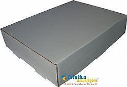 Caixa Estojo 40x30x8cm  Papelao Branco - Cód. 169