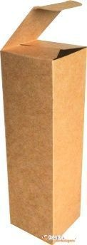 Caixa em papel kraft 9x6,5x17 cm - Cod. 320
